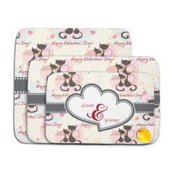Cats in Love Memory Foam Bath Mat (Personalized)