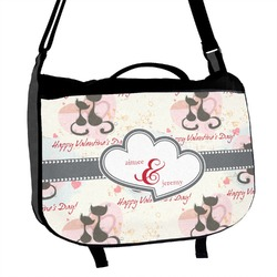 Cats in Love Messenger Bag (Personalized)