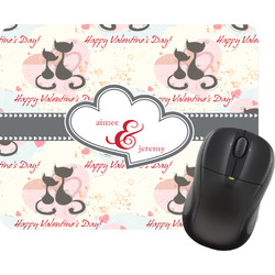 Cats in Love Mouse Pads (Personalized)