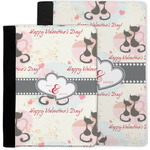 Cats in Love Notebook Padfolio w/ Couple's Names
