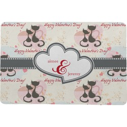 Cats in Love Comfort Mat (Personalized)
