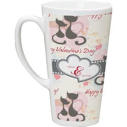 Cats in Love Latte Mug (Personalized)