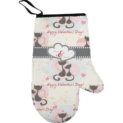 Cats in Love Oven Mitt (Personalized)