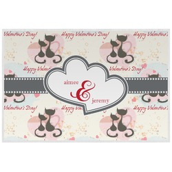 Cats in Love Placemat (Laminated) (Personalized)