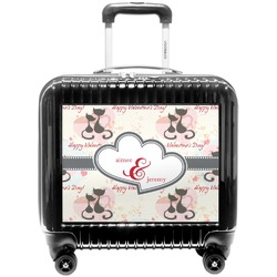 Cats in Love Pilot / Flight Suitcase (Personalized)