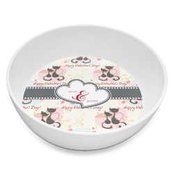 Cats in Love Melamine Bowl 8oz (Personalized)