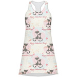 Cats in Love Racerback Dress (Personalized)