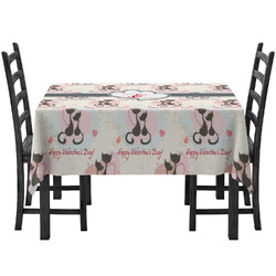 Cats in Love Tablecloth (Personalized)