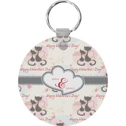 Cats in Love Keychains - FRP (Personalized)