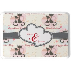 Cats in Love Serving Tray (Personalized)