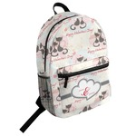 Cats in Love Student Backpack (Personalized)
