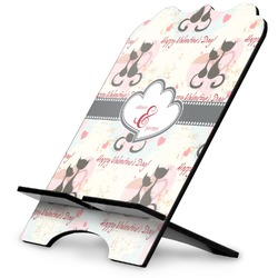 Cats in Love Stylized Tablet Stand (Personalized)