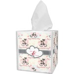 Cats in Love Tissue Box Cover (Personalized)