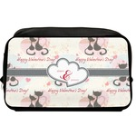 Cats in Love Toiletry Bag / Dopp Kit (Personalized)