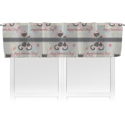 Cats in Love Valance (Personalized)