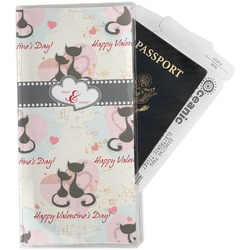 Cats in Love Travel Document Holder