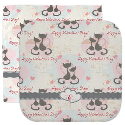 Cats in Love Facecloth / Wash Cloth (Personalized)
