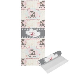 Cats in Love Yoga Mat - Printed Front (Personalized)