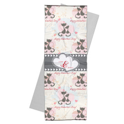 Cats in Love Yoga Mat Towel (Personalized)