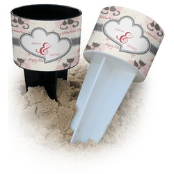 Cats in Love Beach Spiker Drink Holder (Personalized)
