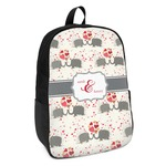 Elephants in Love Kids Backpack (Personalized)
