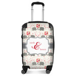 Elephants in Love Suitcase (Personalized)
