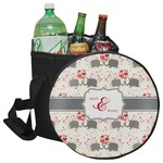 Elephants in Love Collapsible Cooler & Seat (Personalized)