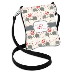 Elephants in Love Cross Body Bag - 2 Sizes (Personalized)