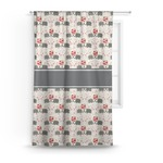 Elephants in Love Curtain (Personalized)