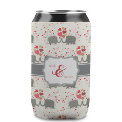 Elephants in Love Can Sleeve (12 oz) (Personalized)