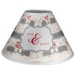 Elephants in Love Coolie Lamp Shade (Personalized)