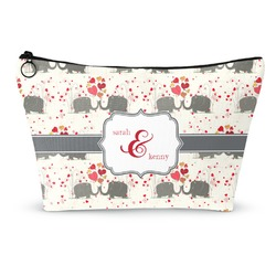 Elephants in Love Makeup Bags (Personalized)