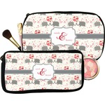 Elephants in Love Makeup / Cosmetic Bag (Personalized)