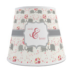 Elephants in Love Empire Lamp Shade (Personalized)