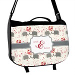 Elephants in Love Messenger Bag (Personalized)