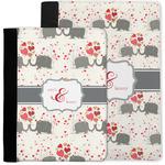 Elephants in Love Notebook Padfolio w/ Couple's Names