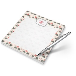 Elephants in Love Notepad (Personalized)