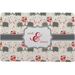 Elephants in Love Comfort Mat (Personalized)