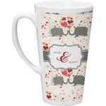 Elephants in Love Latte Mug (Personalized)