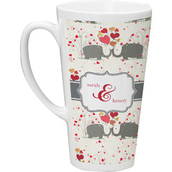 Elephants in Love Latte Mug (Personalized)