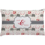 Elephants in Love Pillow Case (Personalized)