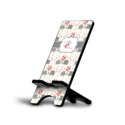 Elephants in Love Cell Phone Stands (Personalized)