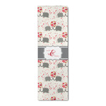 Elephants in Love Runner Rug - 3.66'x8' (Personalized)
