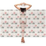 Elephants in Love Sheer Sarong (Personalized)