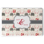 Elephants in Love Serving Tray (Personalized)