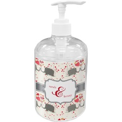 Elephants in Love Soap / Lotion Dispenser (Personalized)