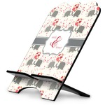 Elephants in Love Stylized Tablet Stand (Personalized)