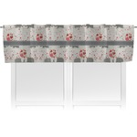 Elephants in Love Valance (Personalized)
