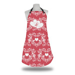 Heart Damask Apron (Personalized)
