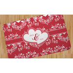 Heart Damask Area Rug (Personalized)
